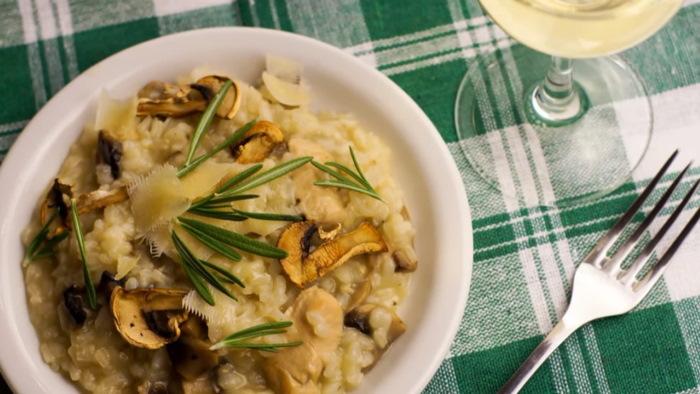 Лучшие рецепты приготовления нежнейшего ризотто с курицей и грибами